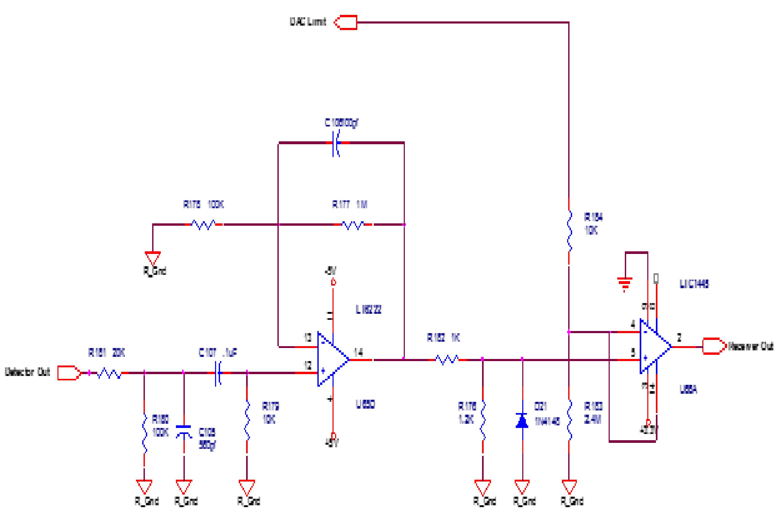 Sonar 2 Circuit Description Bob Rowland Electronics Low Pass Filter Diagram Figure 5 And Comparator